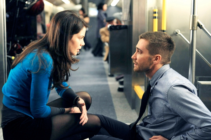 MICHELLE MONAGHAN and JAKE GYLLENHALL star in Source Code