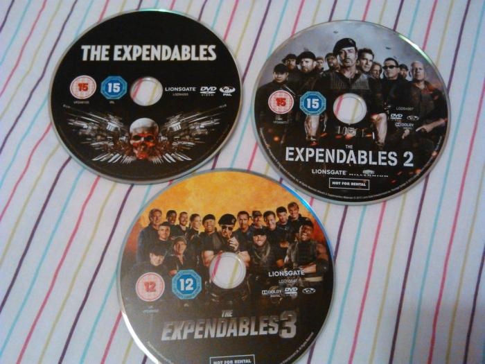 Round 176 - The Expendables Trilogy - @The_LizMarshall