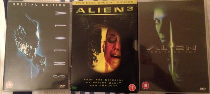 Round 202 - Alien Sequels - @RichardMovieFan