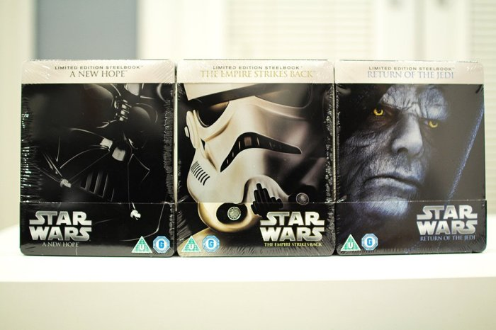 Round 212 - STAR WARS Ep. 4-6 Steelbooks - @MyPeeps_UK