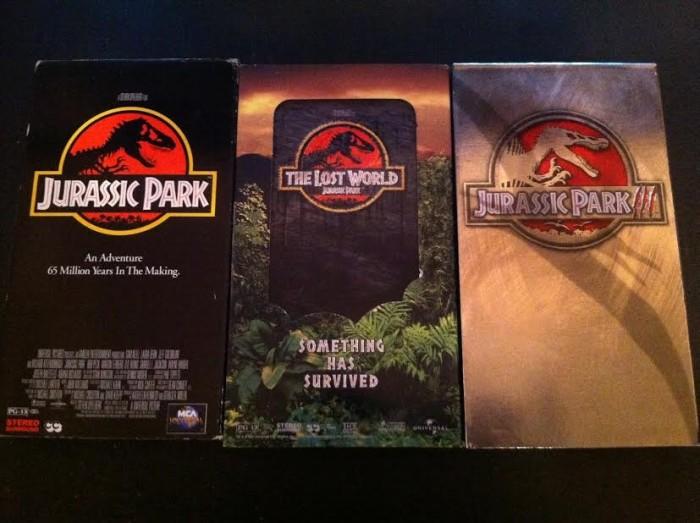 Round 23 - Jurassic Park Trilogy_VHS