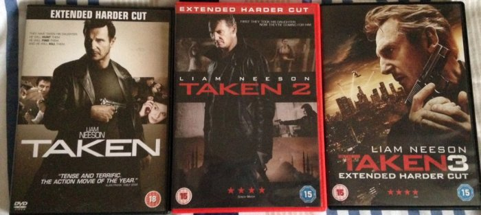 Round 236 - TAKEN Trilogy - @RichardMovieFan