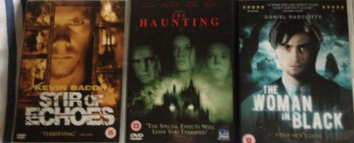 Round 244 - Hauntings! - @RichardMovieFan