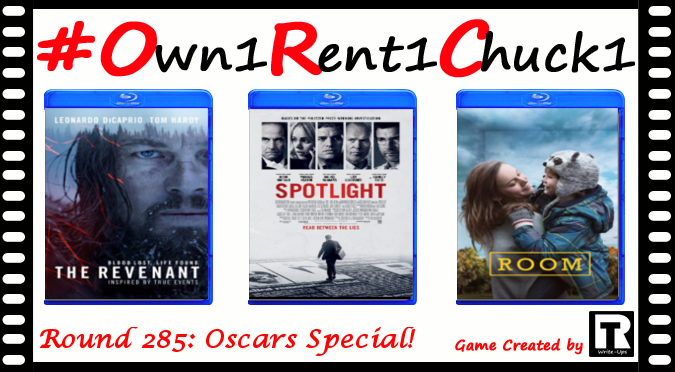 Round 285 - Oscars 2016 Special