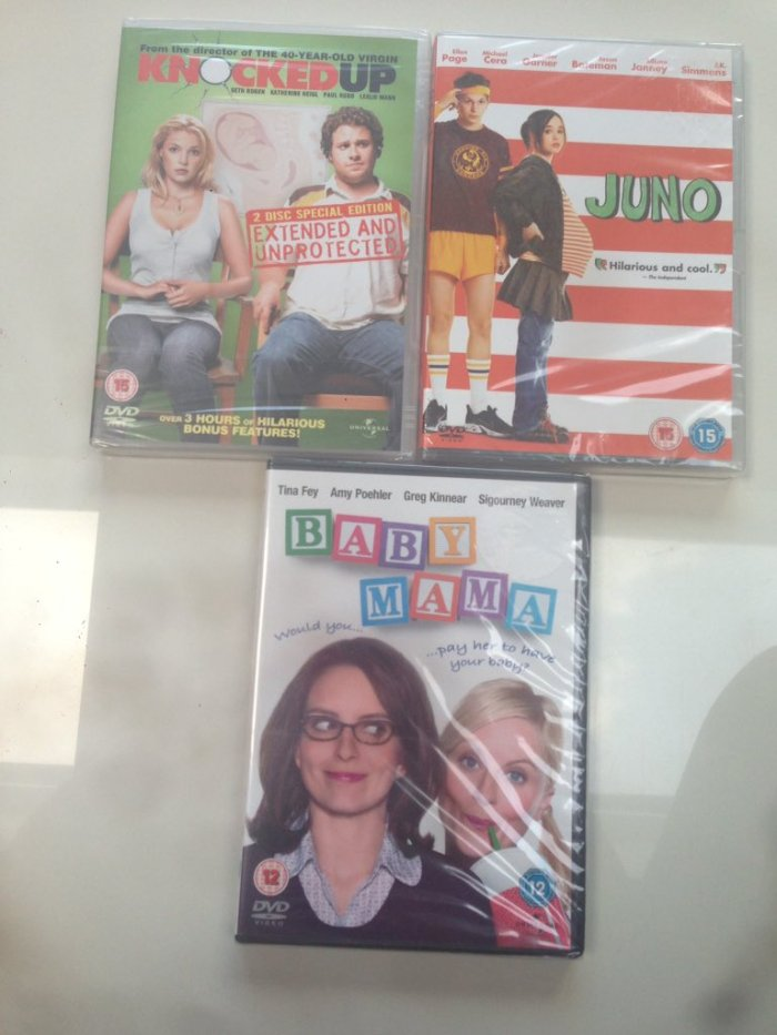 Round 320 - Pregnancy Comedies - @popcornoncouch