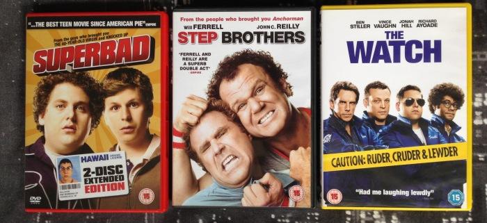 Round 74 - Crazy Comedies